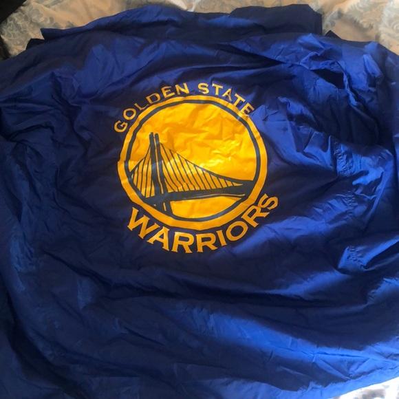 Golden State Warriors x Levi's Windbreaker